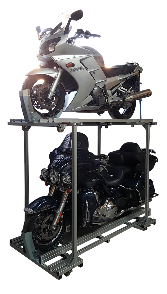 Motorrad Etagengestell
