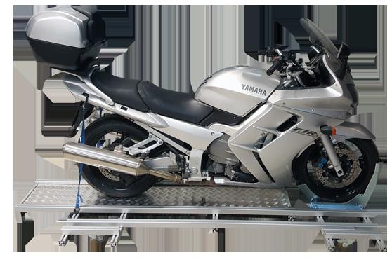 Motorrad Verschiebeplattform Rangierhilfe