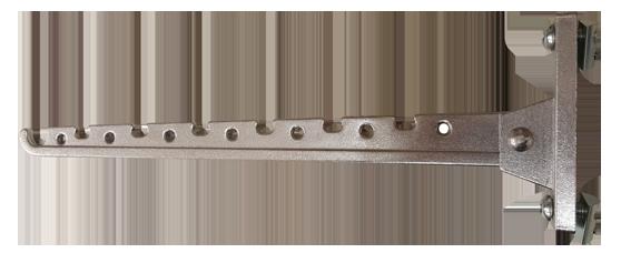 Kleider-Klappbuegel aus Aluminium